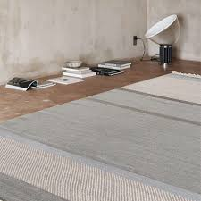 unit rug by linie design thick stripes