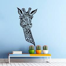 Africa Vinyl Decal Sticker For Car Truck Window Computer Animals Decor Giraffe