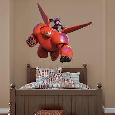 Baymax Hiro Big Hero 6 Disney Disney Wall Decals Disney Decor Bedroom Big Hero 6