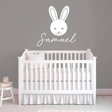 Bunny Nursery Wall Decor Rb110 Designedbeginnings