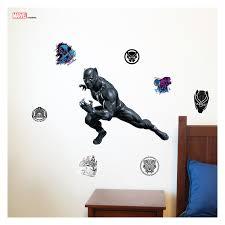 Decalcomania Marvel Black Panther Augmented Reality Wall Decal Walmart Com Walmart Com