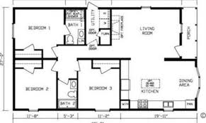 one story rectangular house plans