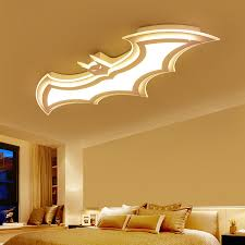 Kids Room Lamp Batman Led Chandeliers Children S Room Bedroom Acrylic Modern Spot Ceiling Decor Home Lustre Chandeliers Aliexpress