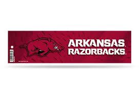 Arkansas Razorbacks Bumper Sticker Officially Licensed Custom Sticker Shop