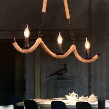 open bulb pendant lights village rope
