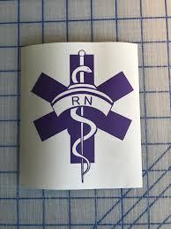 Rn Or Lpn Nurse Decal Custom Vinyl Car Truck Window Laptop Sticker Customvinyldecals4u