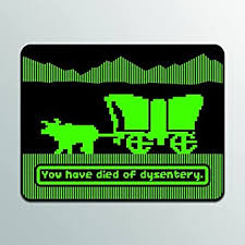 Amazon Com You Have Died Of Dysentery Oregon Trail Vinyl Decal Sticker Cars Trucks Vans Suvs Windows Walls Cups Laptops Full Color Printed 5 Inch Decal Kcd2193 Automotive