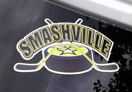 Smashville Nashville Predators Car Decal Etsy