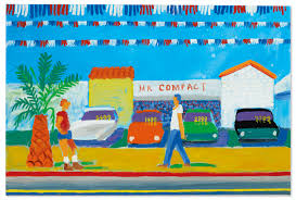 David Hockney (b. 1937) | Santa Monica Boulevard | 1970s ...