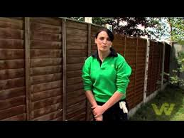 How To Paint A Wooden Fence Youtube