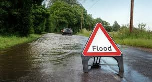 Image result for flooded road