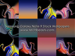 samsung galaxy note 9 stock