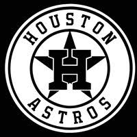 Houston Astros Logo Car Decal Vinyl Sticker White 3 Siz