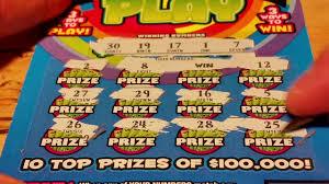 nice winner triple play 5 ticket win