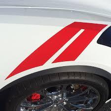 2014 2019 Chevy Corvette Decals C7 Hash Marks Hood Fender Stripes Vinyl Graphics Kit