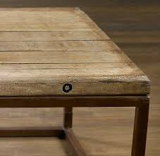 brickmaker s coffee table antique