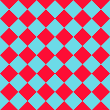 torch red checkers chequered checd