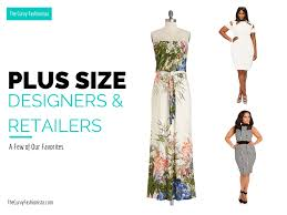 plus size fashion designers