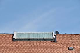 Free picture: chimney, rooftop, windows, roofing, roof, architecture,  reflector, device, electricity, ecology