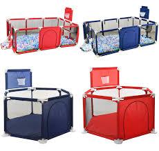 Baby Safety Play Yard Kid Activity Center Toddler Folding Indoor Outdoor Playpen Ebay