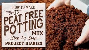 homemade peat free potting mix