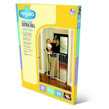 Safety Gates Baby Dog Gate Indoor Tall Pet Fence Baby Barrier Adjustable Walk Thru Swinging Door Adrp Fournitures Fr