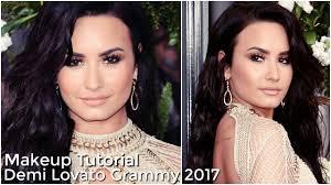 demi lovato makeup tutorial grammy