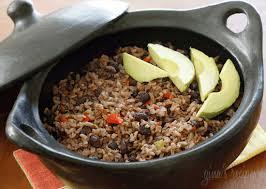 arroz congri cuban rice and black beans
