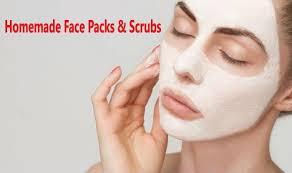 face mask packs scrubs for blackheads