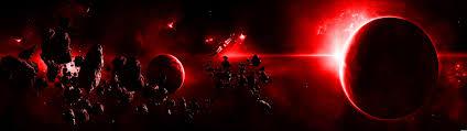 red e scene dual screen wallpaper