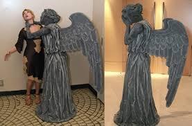 diy doctor who weeping angel costume