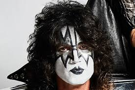 tommy thayer putting eman makeup
