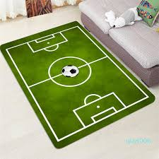 Modern Carpet 3d Football Area Rugs Flannel Rug Memory Foam Carpet Boys Kids Play Crawl Mat Big Carpets For Home Living Room Blanket Textured Carpets Carpet Color Samples From Qian006 44 66 Dhgate Com