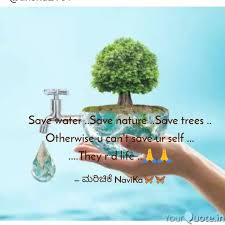 save water save nature quotes writings by 👰kaveri