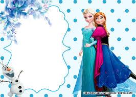 Free Printable Frozen Anna And Elsa Invitation Templates Fiesta