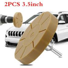1 Pair 3 5in Rubber Eraser Wheel Pinstripe Glue Removal Car Decal Eraser Tool Ebay
