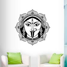 Zooyoo Indian Shiva Wall Stickers Home Decor Living Room High Quality Vinyl Hinduism God Wall Decals Art Murals Stickers Home Decor Wall Stickerwall Stickers Home Decor Aliexpress