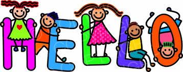 Hello Kids Greeting - Title Text Cartoon – Prawny Clipart Cartoons ...