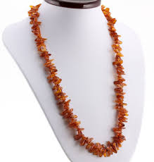 thorn shape beads baltic amber necklace