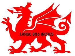 For Welsh Dragon Vinyl Car Sticker Graphics Decals Rear Window Side Wales Laptop Red Various Sizes Car Stickers Aliexpress