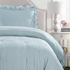 lush decor lake blue reyna comforter