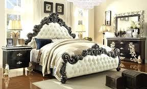 diamond tufted bedroom set settee