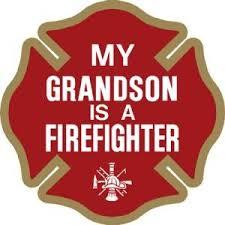 My Grandson Is A Firefighter Decal Firefighter Com