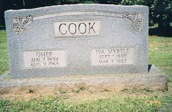 Iva Myrtle Denham Cook (1897-1987) - Find A Grave Memorial