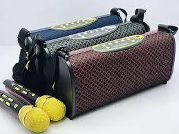Loa bluetooth karaoke YS32- kèm 2 mic không dây