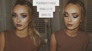 prom makeup tutorial on my friend