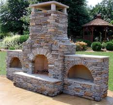 get an outdoor fireplace installed in