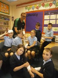 Perry Wood primary and nursery school are first with first aid skills |  Ludlow Advertiser