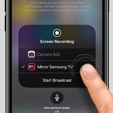 iphone or ipad to a samsung tv