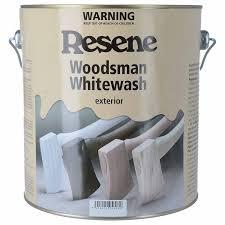 Resene Whitewash Waterborne Stain Timber Fences Mitre 10